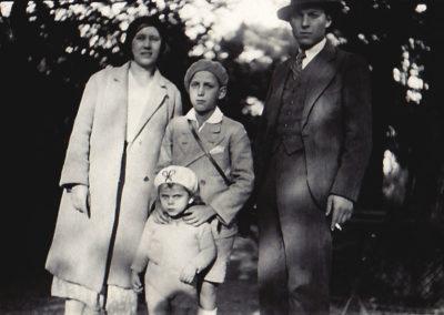 Ed 1933 Famille Leroy au jardin des plantes