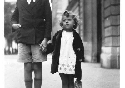 Ed 1935 Avec Roger à Paris N&B
