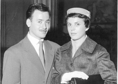Ed 1960 Mariage Couple